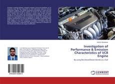 Investigation of Performance & Emission Characteristics of VCR Engine kitap kapağı