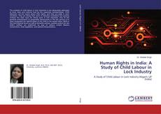 Bookcover of Human Rights in India: A Study of Child Labour in Lock Industry