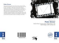 Peter Zinner kitap kapağı