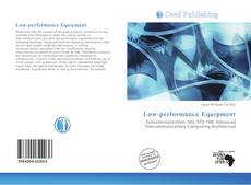 Low-performance Equipment kitap kapağı