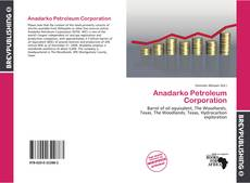 Обложка Anadarko Petroleum Corporation