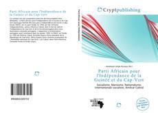 Bookcover of Parti Africain pour l'Indépendance de la Guinée et du Cap-Vert
