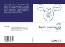 Supplier evaluation using topsis. kitap kapağı