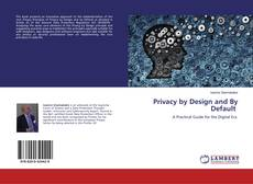 Buchcover von Privacy by Design and By Default