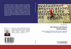 Bookcover of On Focus-on-Form Instruction: