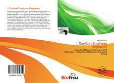 Bookcover of 1 Combat Engineer Regiment