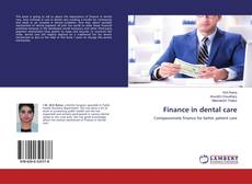 Finance in dental care kitap kapağı