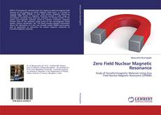 Buchcover von Zero Field Nuclear Magnetic Resonance