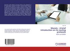 Portada del libro de Manets - A brief introduction on its routing protocols