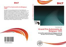 Bookcover of Grand Prix Automobile de Belgique 1955