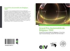Bookcover of Grand Prix Automobile de Belgique 1963