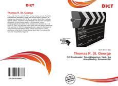 Buchcover von Thomas R. St. George
