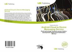 Bookcover of Android Cloud to Device Messaging Service
