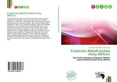 Обложка Frederick Abbott (Indian Army Officer)
