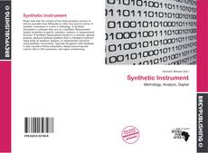 Buchcover von Synthetic Instrument