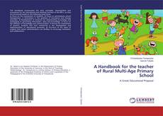 Bookcover of A Handbook for the teacher of Rural Multi-Age Primary School