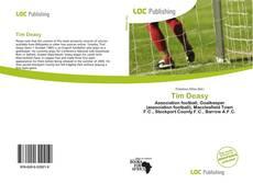 Capa do livro de Tim Deasy