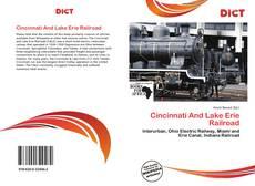 Buchcover von Cincinnati And Lake Erie Railroad