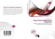 Portada del libro de Cape Town Highlanders Regiment