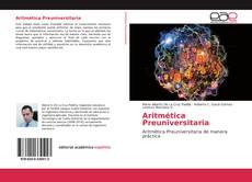Buchcover von Aritmética Preuniversitaria