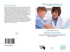 Bookcover of Mouth Breathing