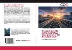 Portada del libro de Procedimiento administrativo disciplinario del Servicio Civil