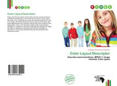 Copertina di Color Layout Descriptor