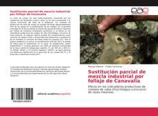 Portada del libro de Sustitución parcial de mezcla industrial por follaje de Canavalia