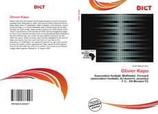 Bookcover of Olivier Kapo
