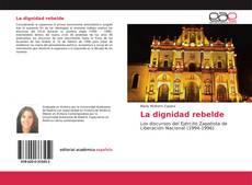 Buchcover von La dignidad rebelde