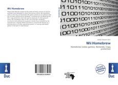 Capa do livro de Wii Homebrew