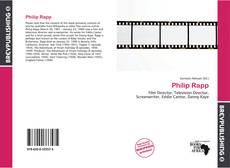 Bookcover of Philip Rapp