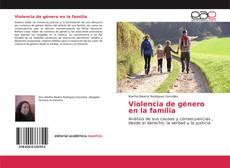 Borítókép a  Violencia de género en la familia - hoz
