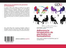 Portada del libro de Adherencia terapéutica de pacientes en hemodiálisis