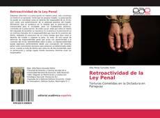 Buchcover von Retroactividad de la Ley Penal