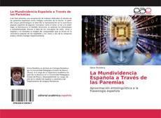 Portada del libro de La Mundividencia Española a Través de las Paremias