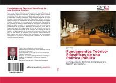 Portada del libro de Fundamentos Teórico-Filosóficos de una Politica Pública
