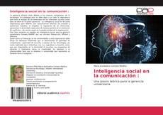 Обложка Inteligencia social en la comunicación :