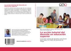 Couverture de La acción tutorial del docente en educación superior
