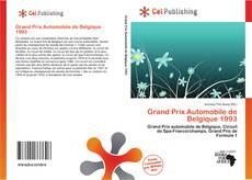 Bookcover of Grand Prix Automobile de Belgique 1993