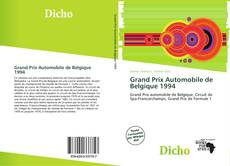 Bookcover of Grand Prix Automobile de Belgique 1994