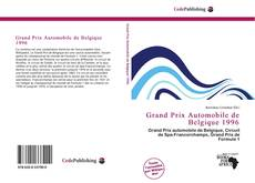 Bookcover of Grand Prix Automobile de Belgique 1996