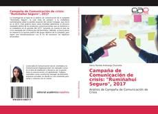 """Buchcover von Campaña de Comunicación de crisis: """"Rumiñahui Seguro"""", 2017"""