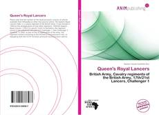 Capa do livro de Queen's Royal Lancers