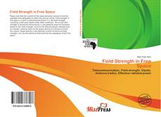 Buchcover von Field Strength in Free Space