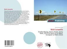 Bookcover of Nick Leventis