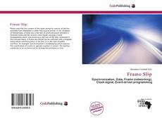 Bookcover of Frame Slip