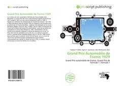 Buchcover von Grand Prix Automobile de France 1929