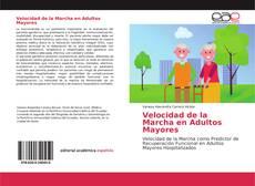 Buchcover von Velocidad de la Marcha en Adultos Mayores