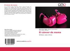 Borítókép a  El cáncer de mama - hoz